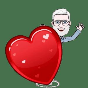 Emoji d'un homme qui dit au revoir