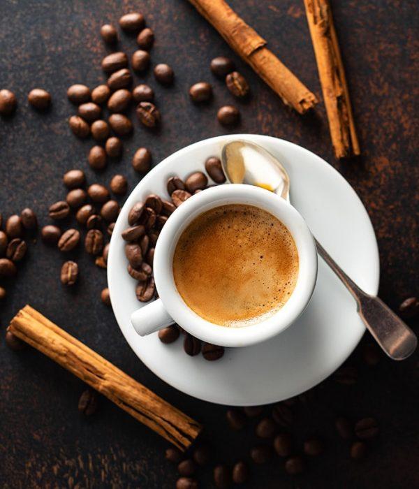 Images de café en grain daily coffee shop